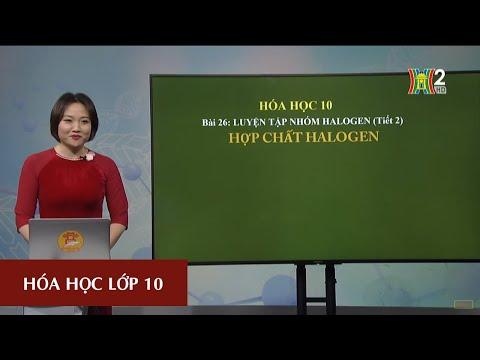 Luyện tập : Nhóm halogen (T2)