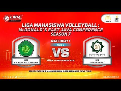 UIN Malang vs UINSA LIMA Volleyball: McDonald's EJC Season 7