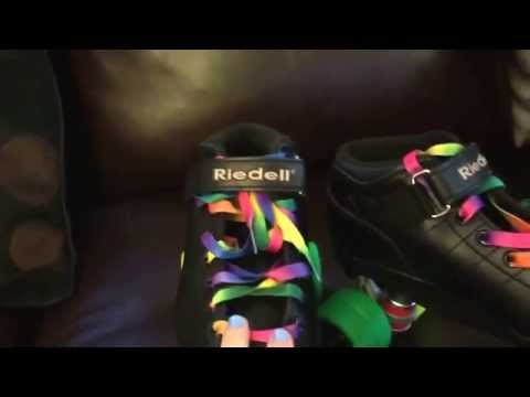 Riedell R3 rainbow skate review