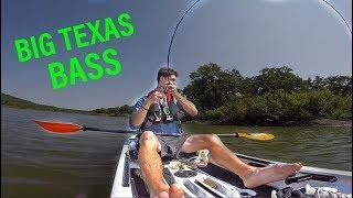 Finding BIG FISH in a HIDDEN Texas Lake | Kholo.pk