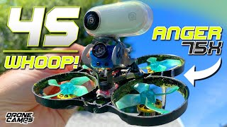 4S WHOOP LIKE A SUPERBIKE! - Geelang Anger 75x V2 - Review & Flights