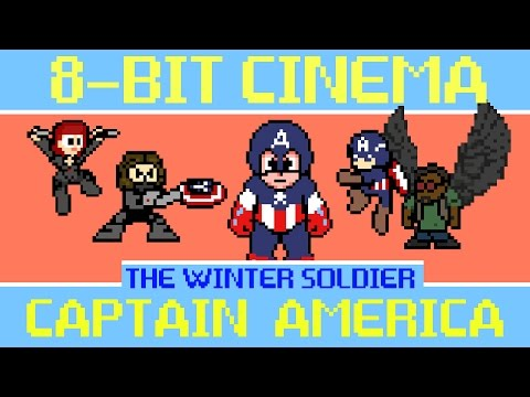 8-Bit Captain America: The Winter Soldier Is Almost As Fun As The Movie