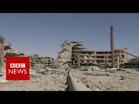 Inside Raqqa after IS was pushed out – BBC News