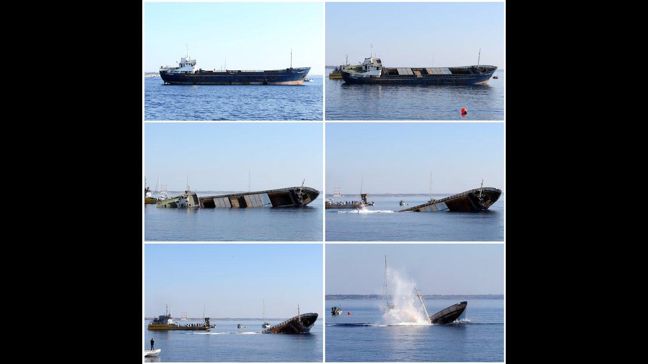 Στη θάλασσα της Λάρνακας ποντίστηκε το εμπορικό σκάφος «Ελπίδα»