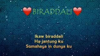 biraddali - tausog love song