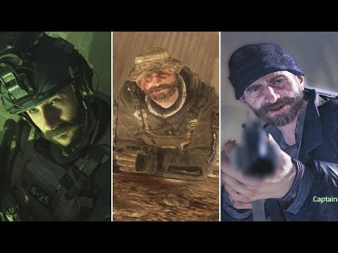 7 Times Captain Price Was Saved by His Friends - Call of Duty Modern Warfare