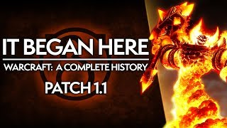 WoW Patch 1.1: The Humble BEGINNINGS of World of Warcraft | Complete History of WoW