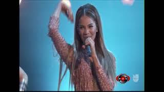 Leslie Grace   Lunes A Jueves & Duro Y Suave (Nuestra Belleza Latina 2018) [RumbaComercial.Com]