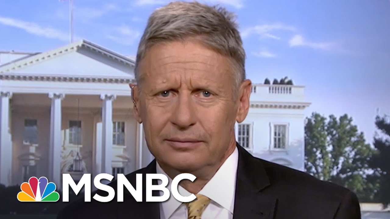 Gary Johnson: 'How About Three Names' On The Poll | MSNBC thumbnail