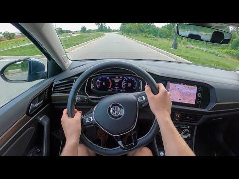 2021 Volkswagen Jetta SEL R-Line - POV Test Drive (Binaural Audio)