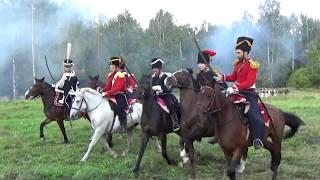 """Военно-исторический фестиваль """"Наполеоновские войны"""" . Часть 3. Атака французов на редут."""