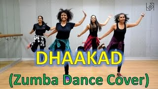 """Best Zumba Dance Workout on """"DHAAKAD""""   'Dangal' Movie by The Urban Fight"""