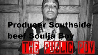 Producer Southside riding around Atl looking for Soulja Boy