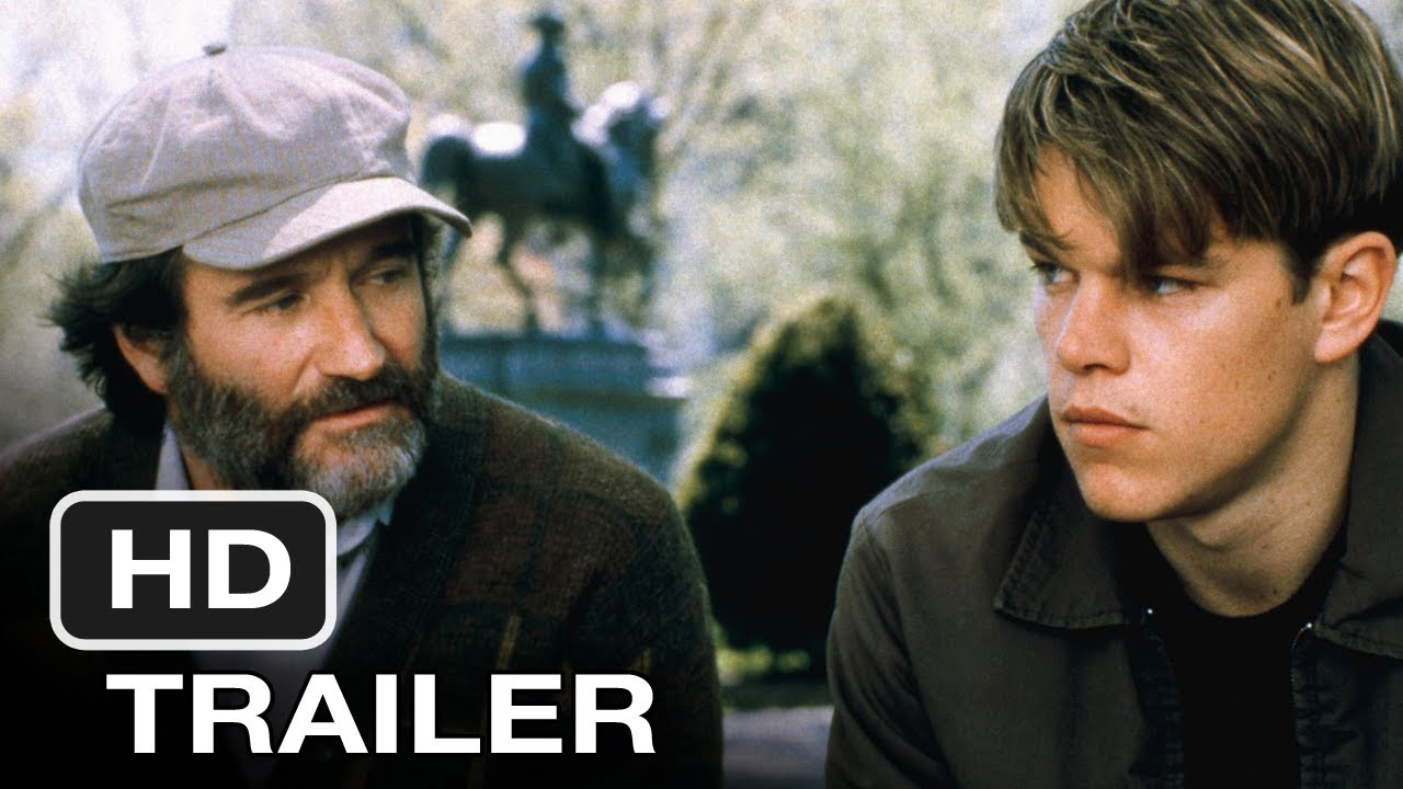 >Good Will Hunting (1997) Blu-Ray Release Movie Trailer