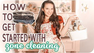 Homemaking Skills | Zone Cleaning Schedule (CLEAN THE EASY WAY)