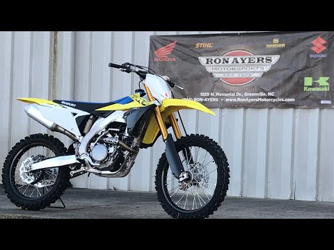 2021 Suzuki RM-Z250 in Greenville, North Carolina - Video 1