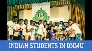 Indian Students in Donetsk National Medical University