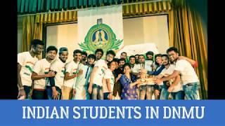 Indian Students in Donetsk National Medical University