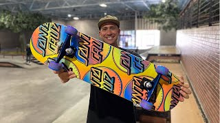 8.25 x 31.8 CONTRA ALL OVER DOT PRODUCT CHALLENGE w/ ANDREW CANNON! | Santa Cruz Skateboards