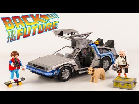 Vidéo PLAYMOBIL Back to the Future 70317 : DeLorean (Retour vers le Futur)