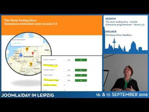 The never ending story - Joomla! Extensions programmieren - Version 3.6