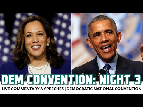 DNC 2020 Night 3 | Live Commentary & Speeches