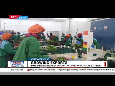 Professionals want more mechanization in growing exports