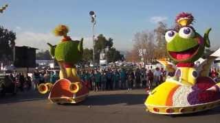 Public Storage Rose Parade Float 2014 Judging