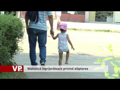 Statistică îngrijorătoare privind alăptarea