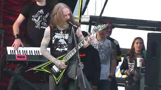 Children of Bodom Hatebreeder Knotfest Mexico 2017