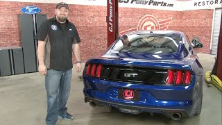 """2015-2017 Mustang GT MBRP 3"""" Aluminized Race Series Cat-Back Installation"""