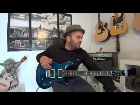 günstige E-Gitarre die wirklich TOP ist! Harley Benton CST 24T Ocean Flame