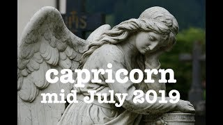 "CAPRICORN 🌹 ""THE DIVINE REWARDS YOUR EFFORTS"" MID JULY 2019 LOVE & GENERAL READING"