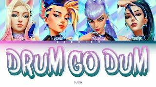 K/DA - DRUM GO DUM (Color Coded Lyrics) - YouTube