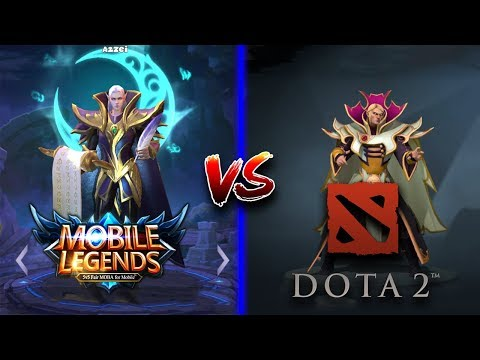 Download Mobile Legends vs DOTA 2 Side by Side Hero Comparison Mp4 HD Video and MP3