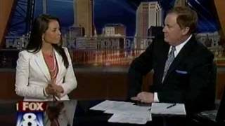 Angelica Campos on Fox 8