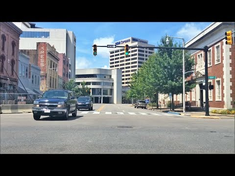Driving Downtown - Montgomery Alabama US