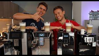 Delonghi Kaffeevollautomaten nach Preisklassen im Vergleich von 300€ bis 1200€