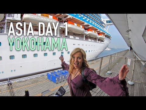 Asia Cruise Vlog: Day 1 Yokohama Embarkation