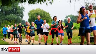 Saturday Parkrun event is back, after 70 weeks off due to COVID-19