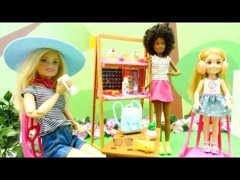 Spielzeugvideo für Kinder. Barbie will Urlaub machen