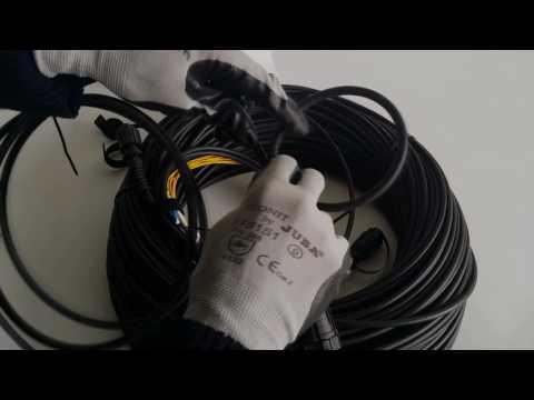 Manguera Fibra Optica PUR Conector MPO MTP a LC UPC