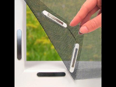 EASYmaxx Moskitonetz 150x130cm für Fenster mit Magnetbefestigung | maxx-world
