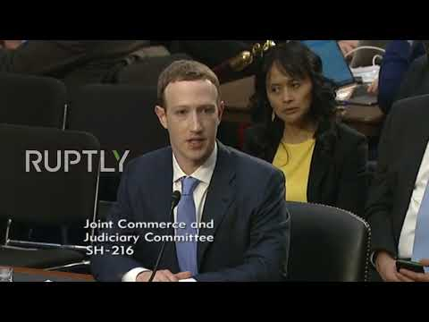 USA: Zuckerberg says no dramatic fall off in number of Facebook users since privacy scandal