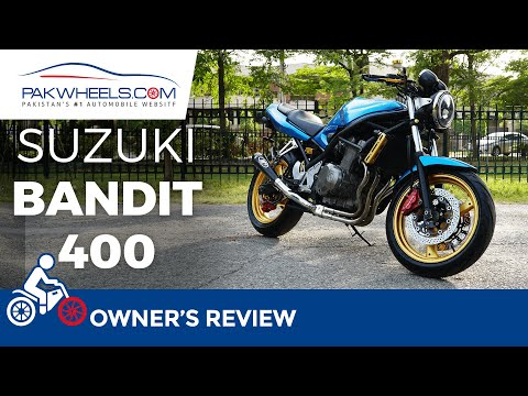 Suzuki Bandit 400 | Modified Bike | Owner's Review | PakWheels