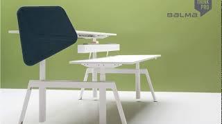 PLUS biurko z elektryczną regulacją wysokości