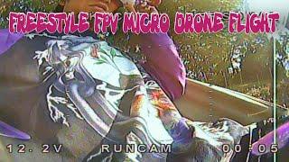 Freestyle FPV Micro Drone Flight5(マイクロドローンでフリースタイル練習5)