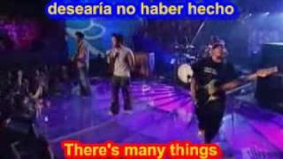 Hoobastank    The Reason ( SUBTITULADO INGLES ESPAÑOL )