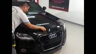 58Xcar 9H PRO+ Nano Ceramic Coat Application On Audi TT By Argentina Official Applicator