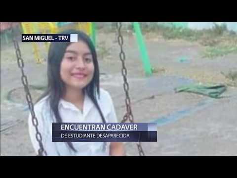 Encuentran cuerpo de una estudiante que había sido reportada como desaparecida en San Miguel